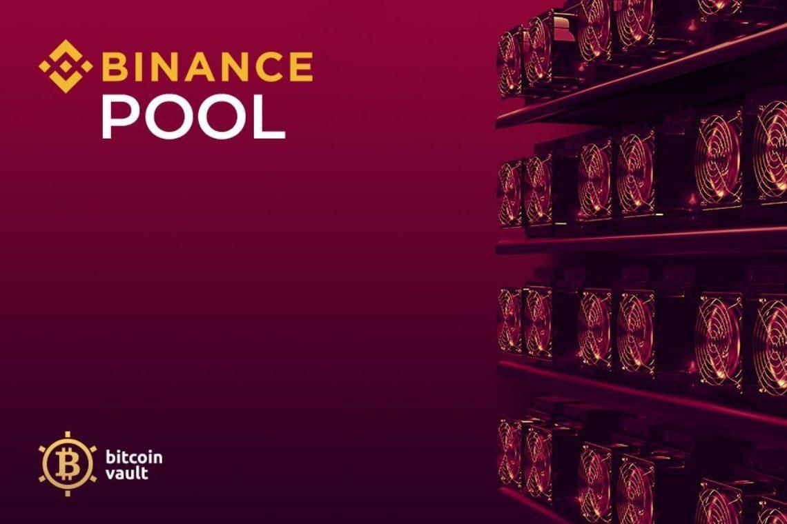 Binance Pool joins the mining of Bitcoin Vault