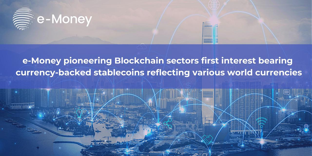 eMoney launches interest-bearing stablecoins and chooses Ernst & Young