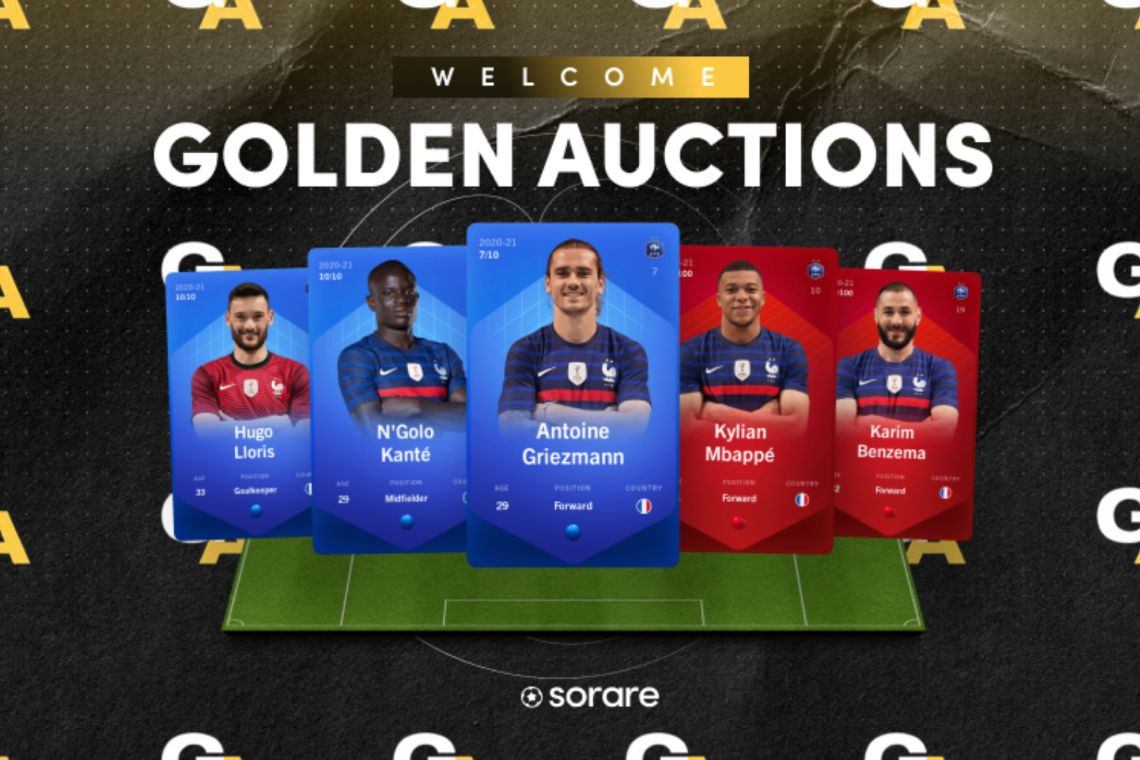 Sorare and Goldin Auction: NFTs of French and Belgian footballers