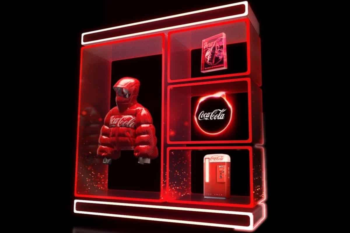 Coca Cola auctions its first NFTs on OpenSea