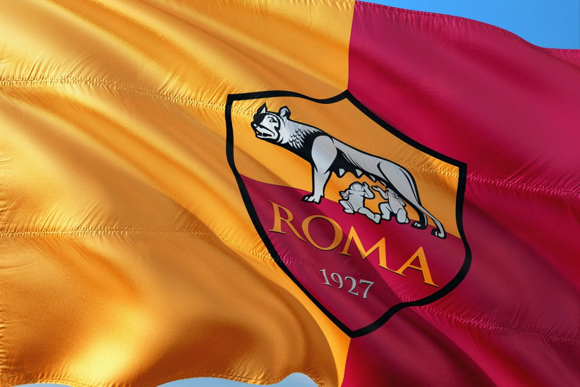 Who is DigitalBits, the main sponsor of AS Roma