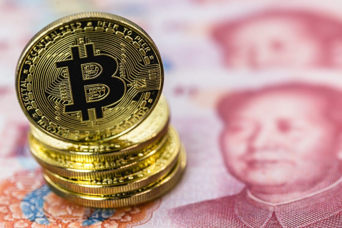 China shuts down a website offering crypto services