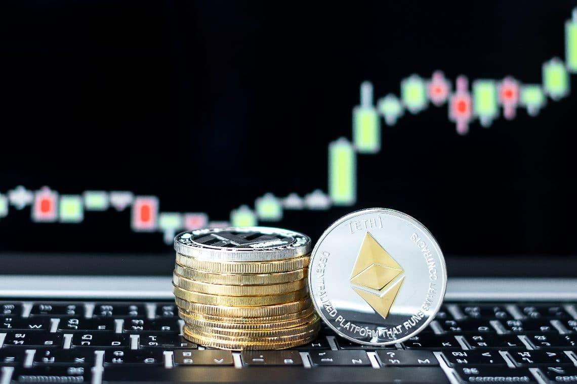 Ethereum and Uniswap price trends