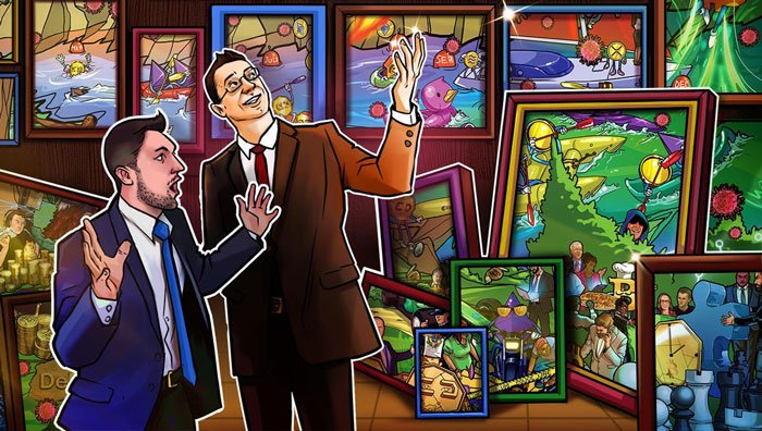 NFT: Binance tokenizes Leonardo da Vinci and Van Gogh
