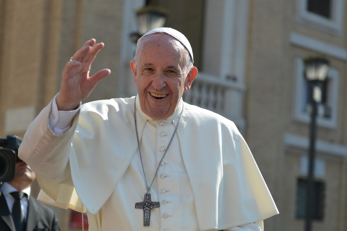 Pope Francis' first NFTs on the AkoinNFT marketplace