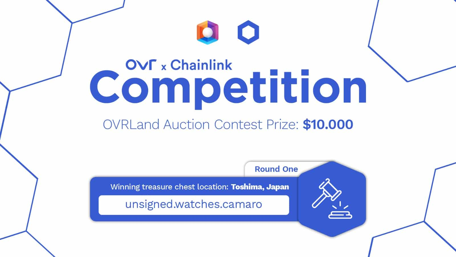OVR partners with Chainlink: competitions with $65,000 in prizes