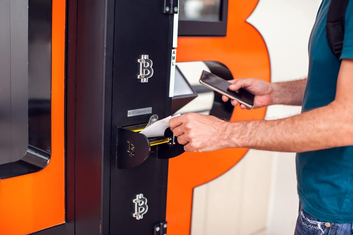 Bitcoin ATM: NCR wants to buy LibertyX
