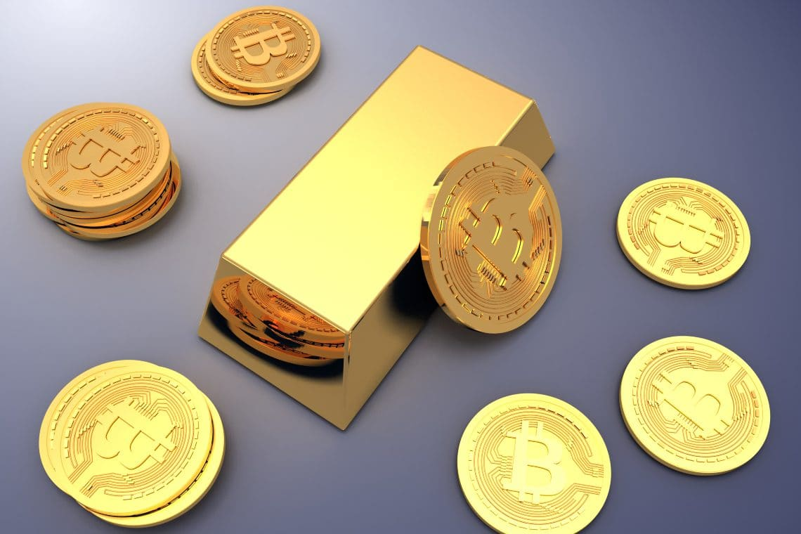Bitcoin performing better than gold against inflation