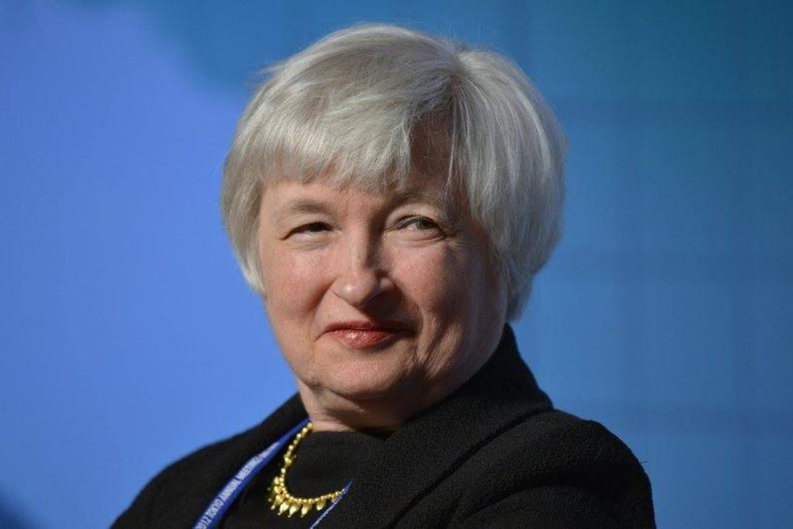 Janet Yellen in favour of cryptocurrency regulation?