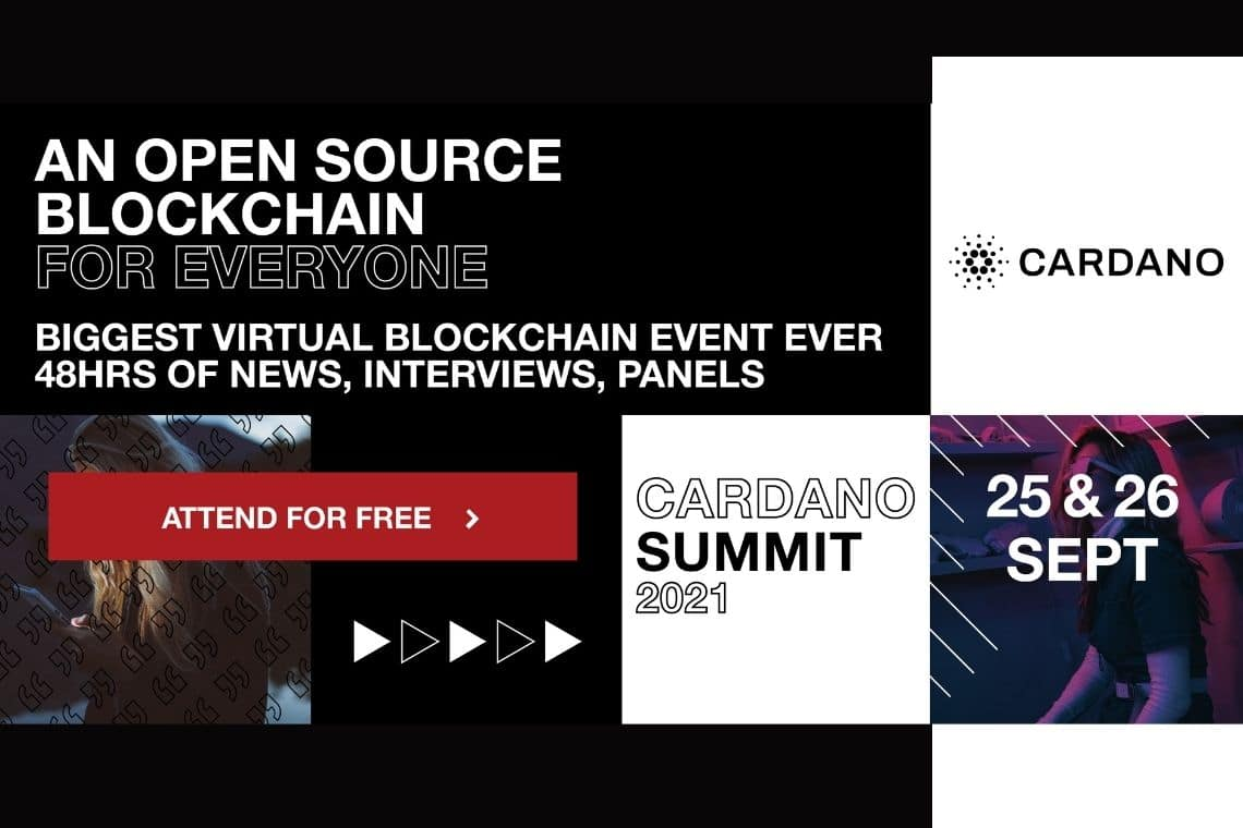 Cardano Summit 2021 to be held on 25-26 September