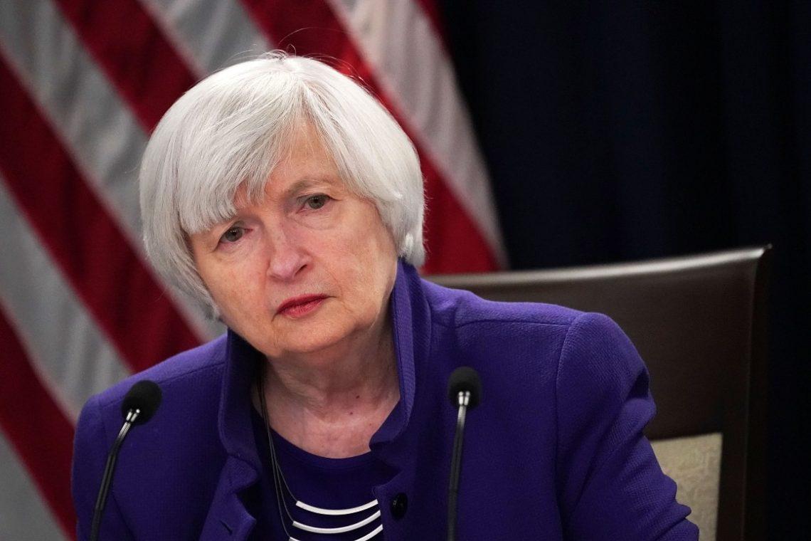 Janet Yellen US debt