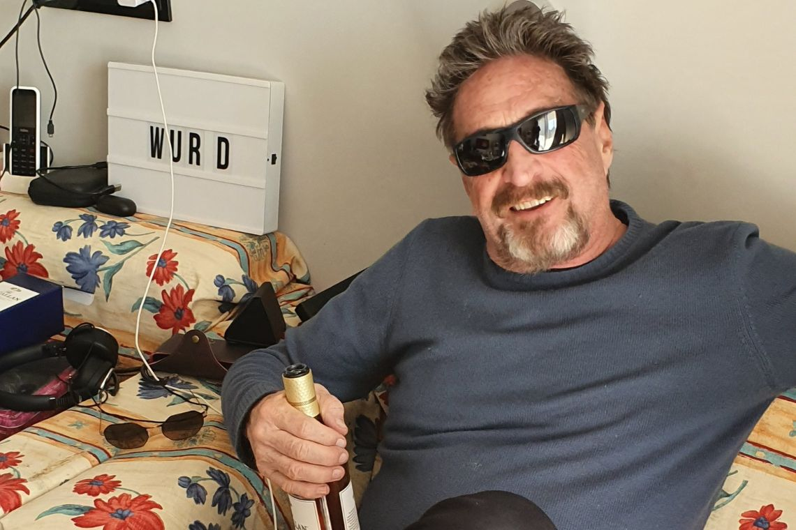 John McAfee, from birthday to death