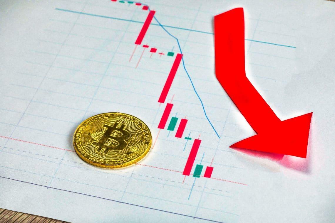 Bitcoin and Ethereum price drop