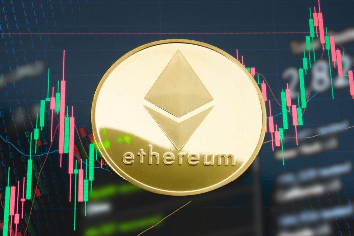 Ethereum and Chainlink each post double digit gains by percentage