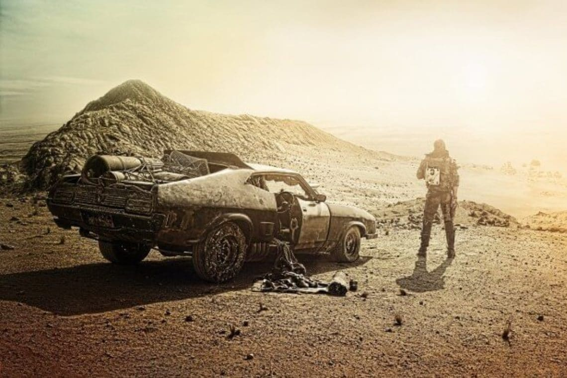 Mad Max movie cars auctioned in Bitcoin