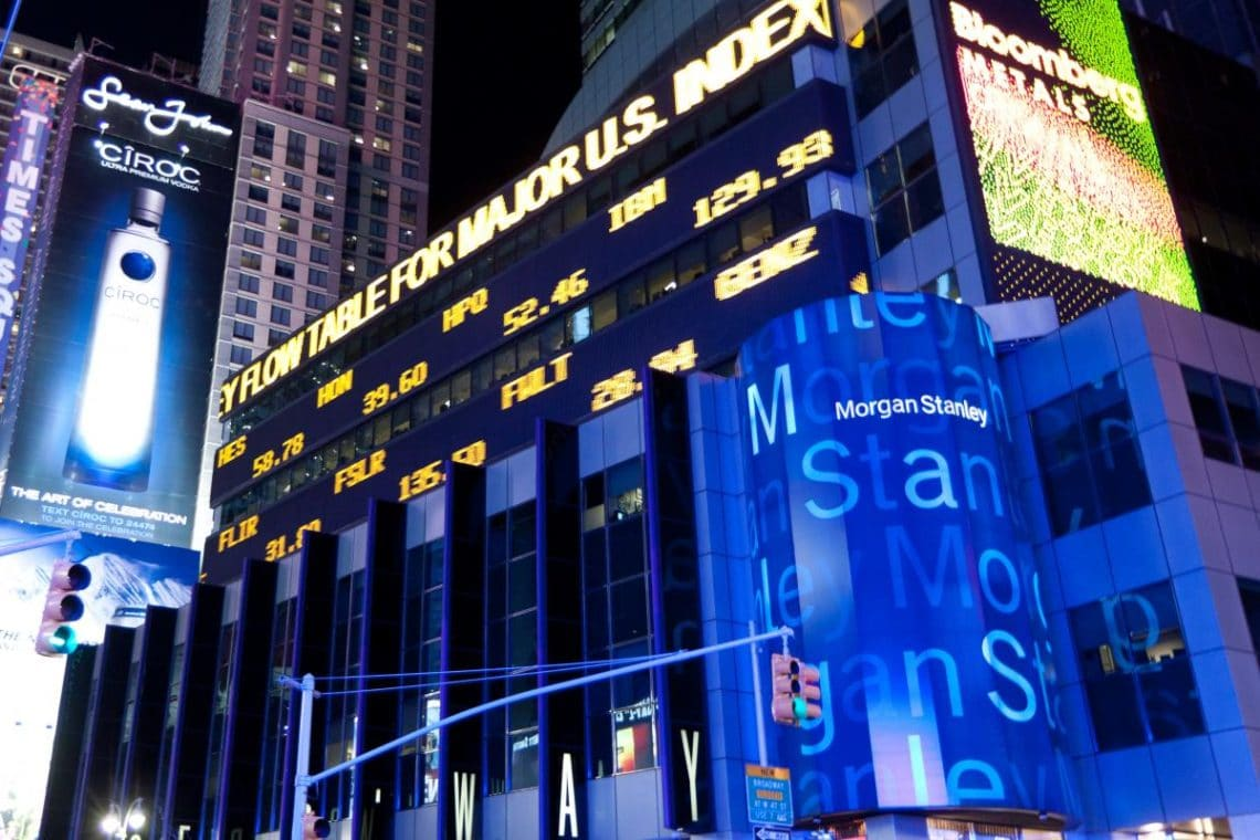 Morgan Stanley increases investment in Grayscale Bitcoin Trust