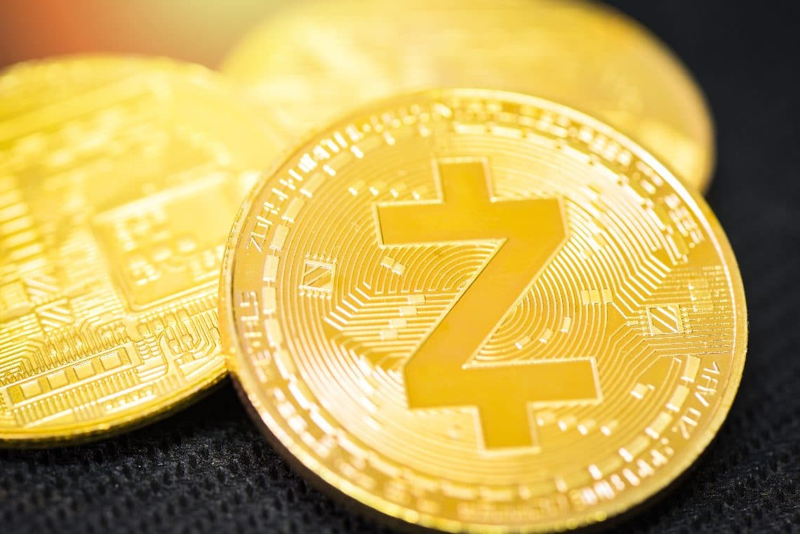 New record in August for Zcash