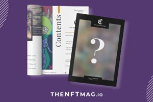 On Ethereum the first NFT magazine: collectible covers and top 10 to discover all the industry leaders