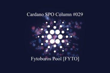 Cardano SPO Column: Fytoboros Pool [FYTO]