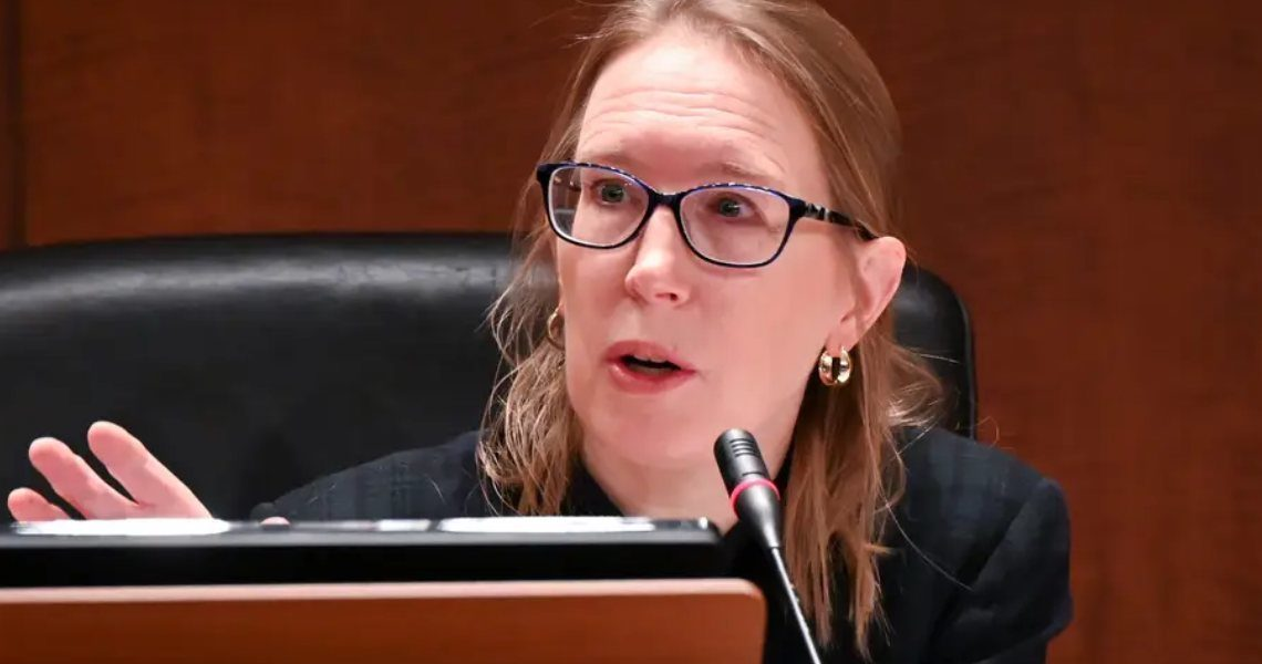 Hester Peirce: it's unfortunate that the SEC doesn't regulate the crypto sector